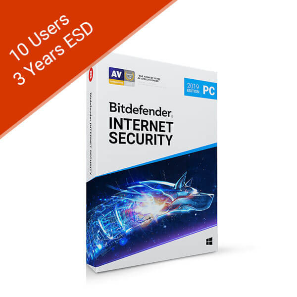 10 Users 3 Years – Internet Security 2019 – 2