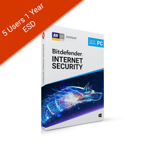 5 Users 1 Year – Internet Security 2019 – 2