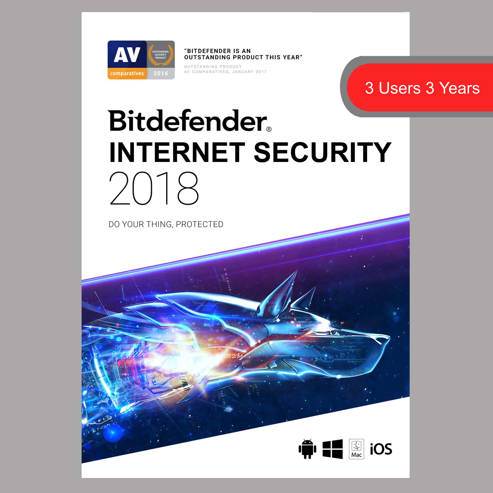bitdefender internet security 2 2018 softvire. Black Bedroom Furniture Sets. Home Design Ideas