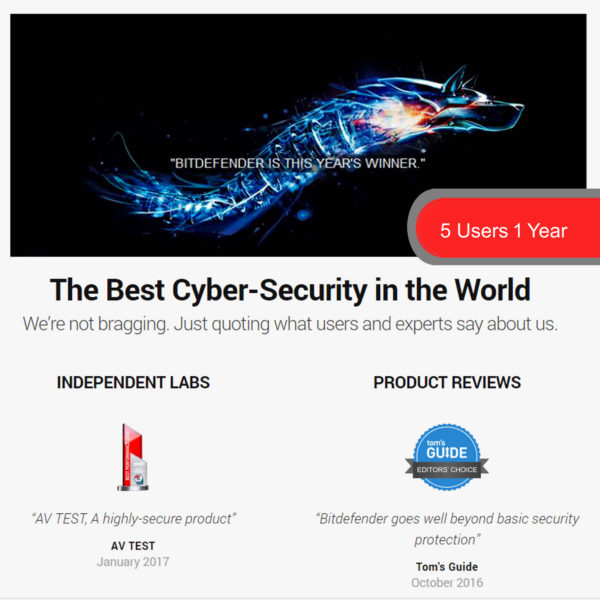 Bitdefender Internet Security 3 2018
