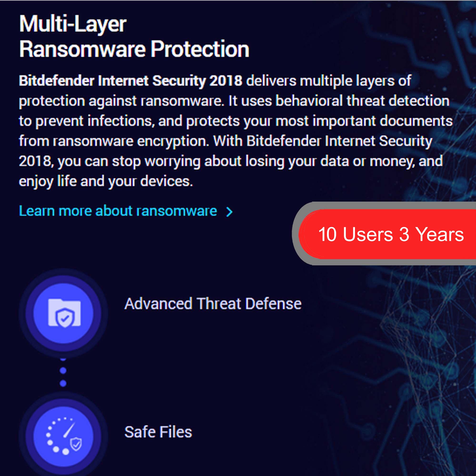 bitdefender internet security 4 2018 softvire. Black Bedroom Furniture Sets. Home Design Ideas