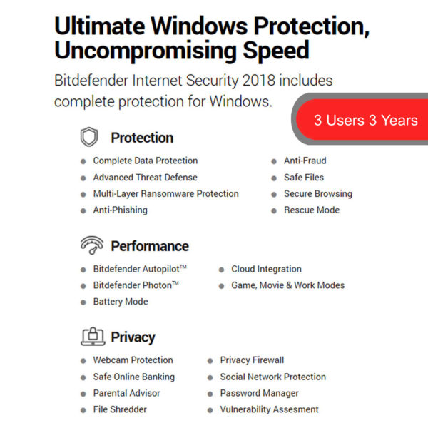 Bitdefender Internet Security 5 2018
