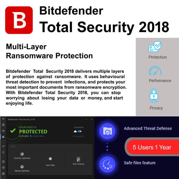 Bitdefender Total Security 2018 7