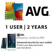 AVG Antivirus Pro for Android Smart Phones 1 User 2 Years ESD