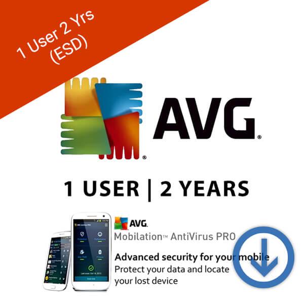AVG Antivirus Pro for Android Smart Phones 1 User 2 Years-2