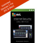 AVG INTERNET SECURITY UNLIMITED 2018 – 2 yrs – 2