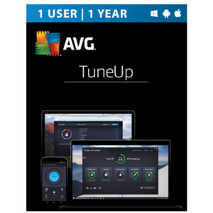 AVG PC TuneUp 2017 1 Device 1 Year 1 User ESD