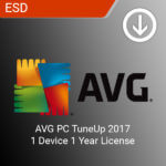 AVG PC TuneUp 2017 1 Device 1 Year License