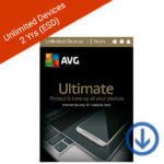 AVG Utimate 2018 for unlimited devices 2 year-Windows, Mac, Android-2