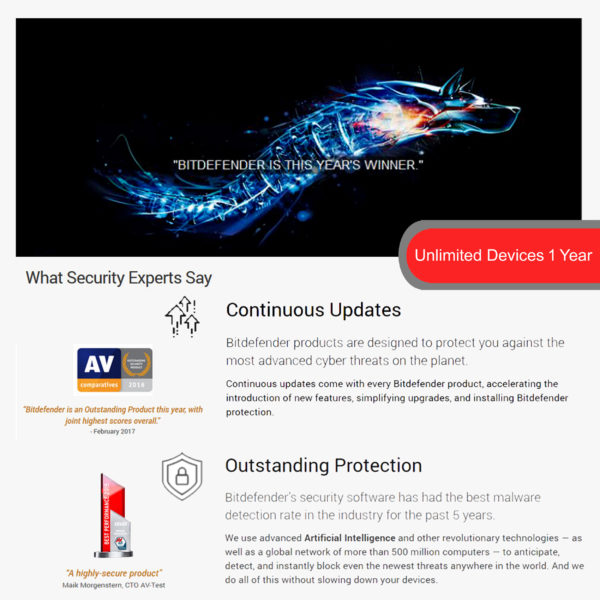 Bitdefender Family Pack4 2018