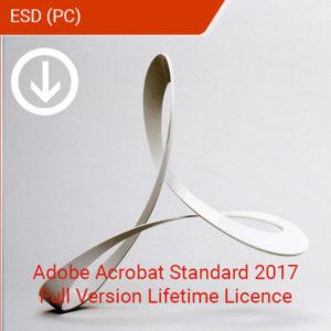 Adobe Acrobat Standard 2017