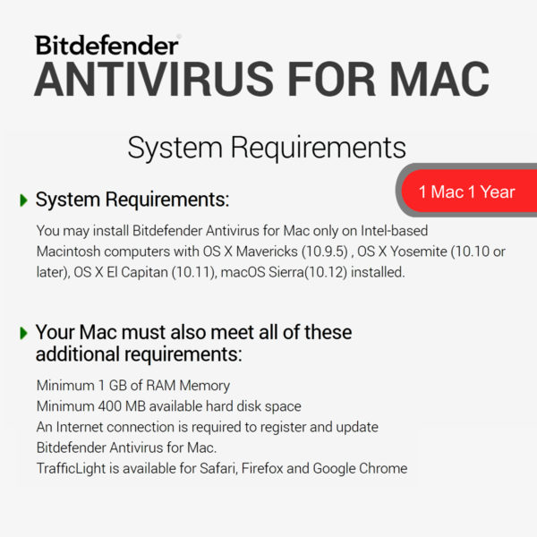 Bitdefender ANTIVIRUS FOR MAC 2018 5