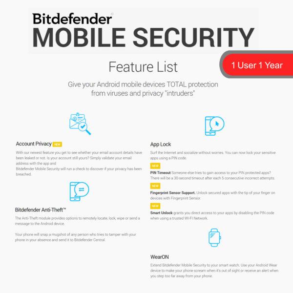 Bitdefender MOBILE SECURITY 2018 3