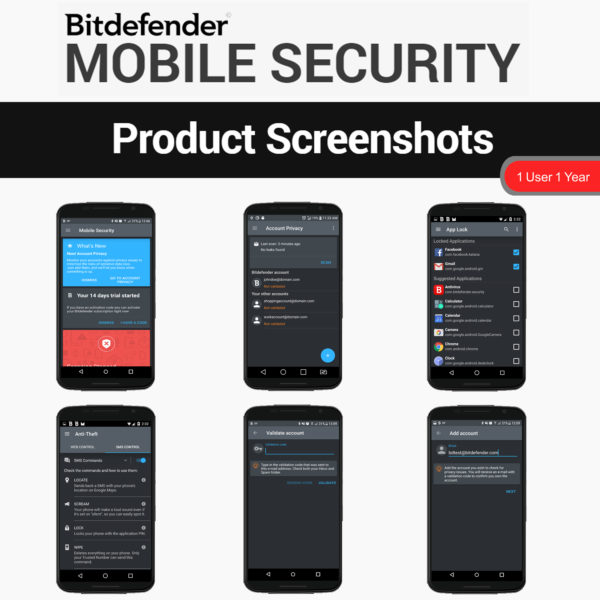 Bitdefender MOBILE SECURITY 2018 5