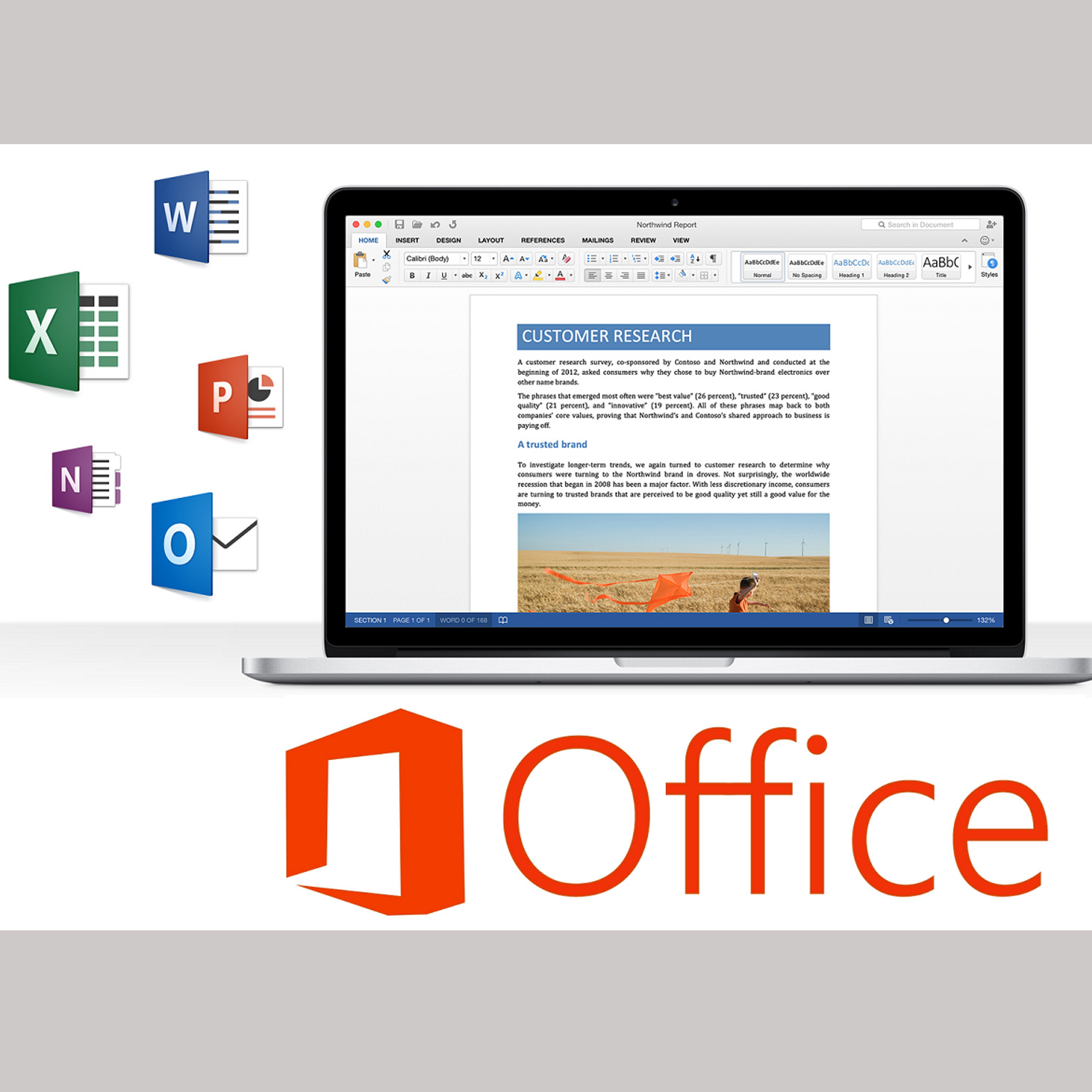 Microsoft Office Home & business 2016 for MAC Retail Pack - Softvire