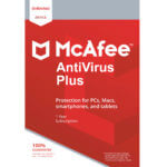 McAfee Antivirus Plus main