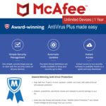 McAfee Antivirus Plus1