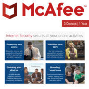 McAfee Internet Security 3