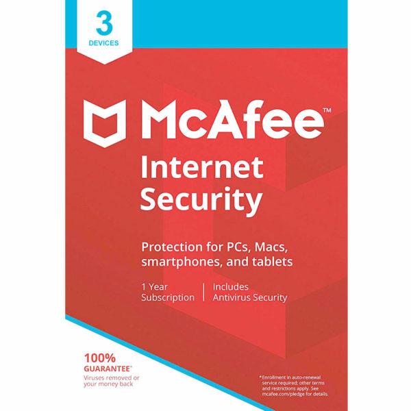McAfee Internet Security main