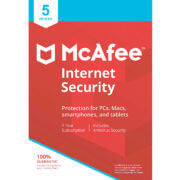 McAfee Internet Security main