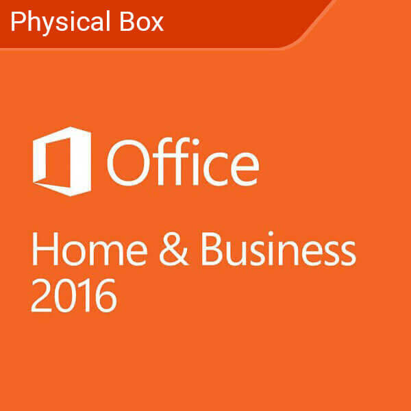 Microsoft Office Home and Business 2016 Windows Physical Box