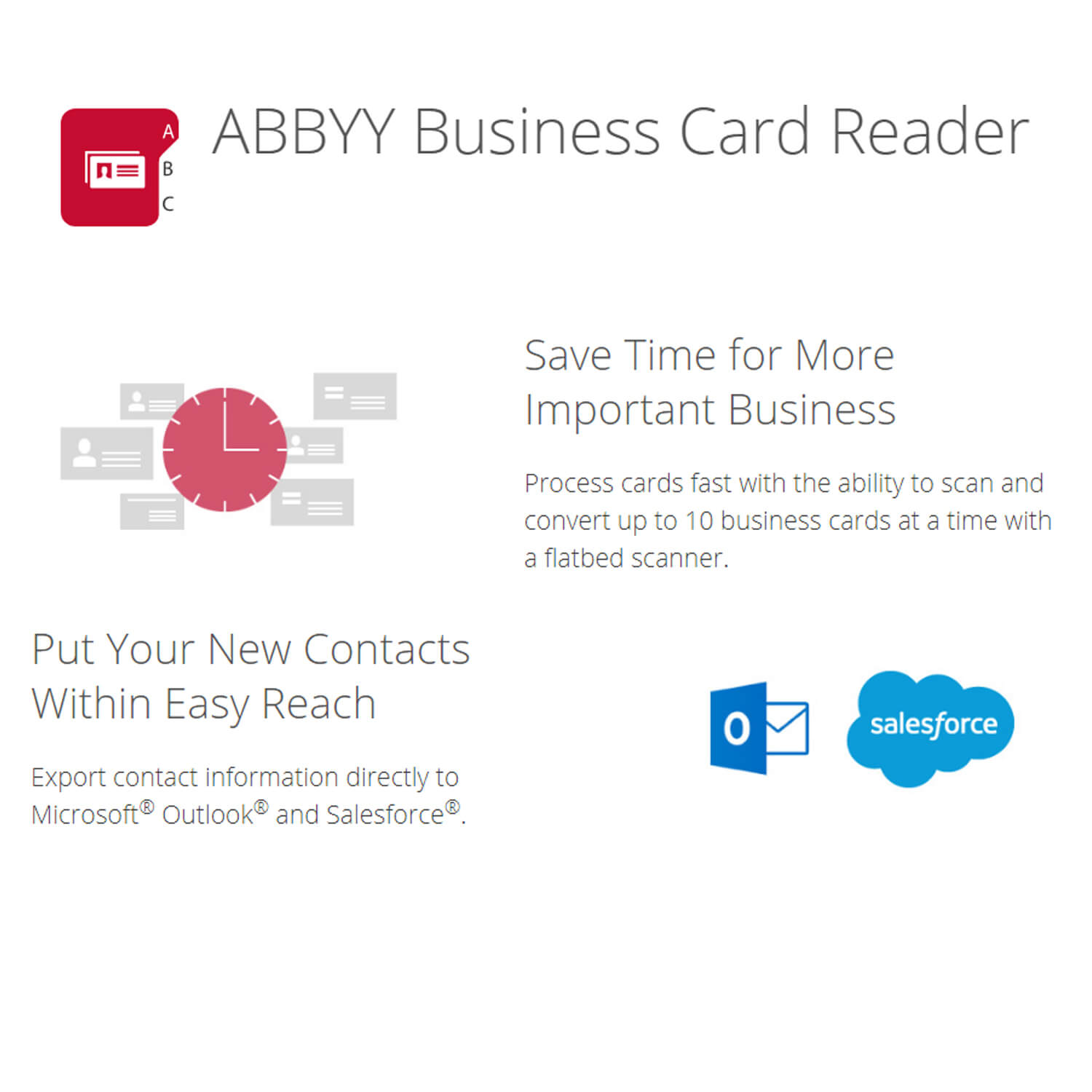 Abbyy business card reader2 softvire for Small business card reader