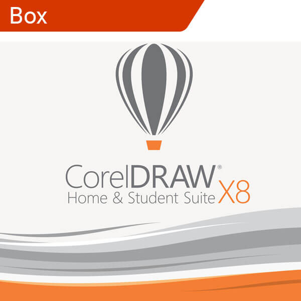 CorelDRAW X8 Home & Student Suite-box