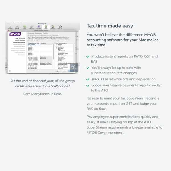 MYOB AccountEdge2