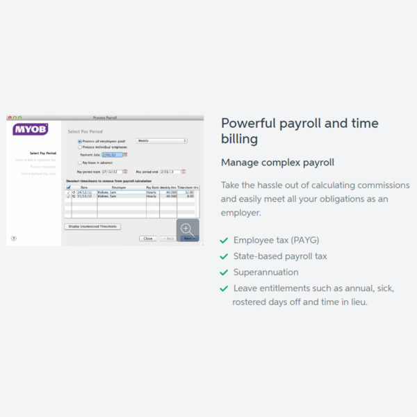 MYOB AccountEdge4