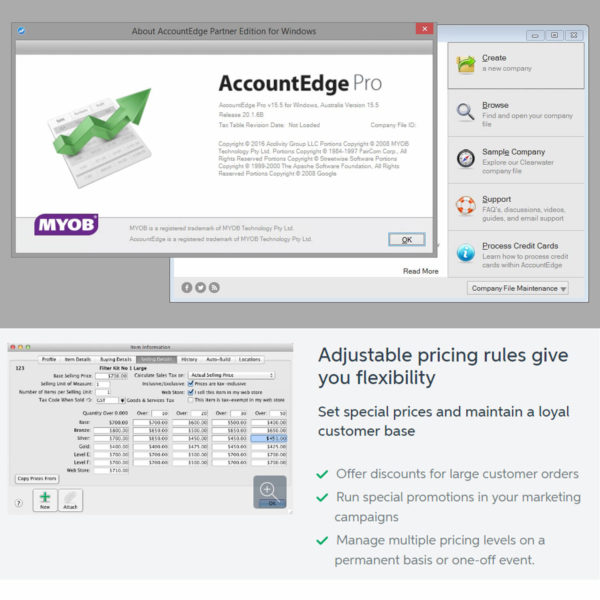 MYOB AccountEdge8