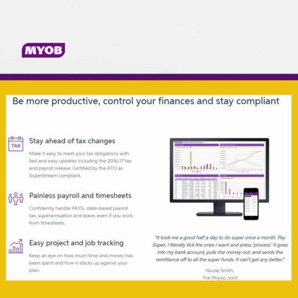 MYOB AccountRight 1