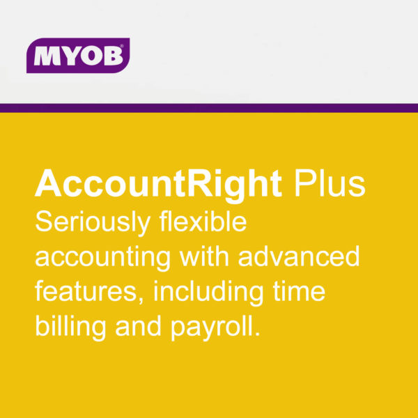 MYOB AccountRight main