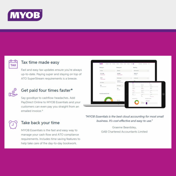 MYOB Essentials 1