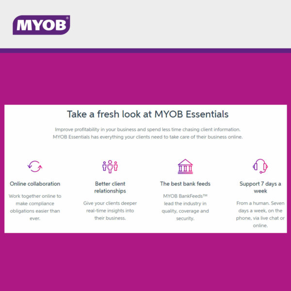 MYOB Essentials 2