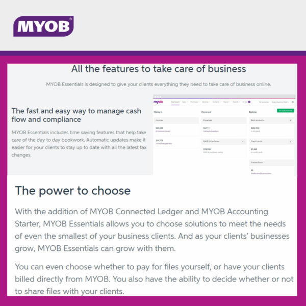 MYOB Essentials 3