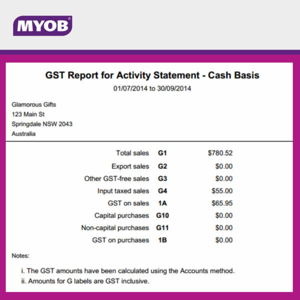 MYOB Essentials 4