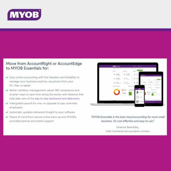 MYOB Essentials 6