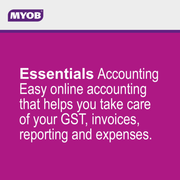 MYOB Essentials main