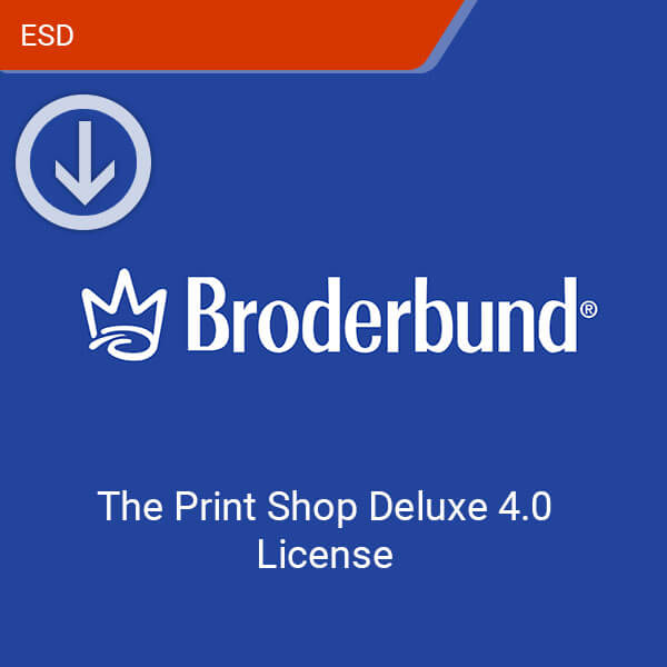 The Print Shop Deluxe 40 License-esd