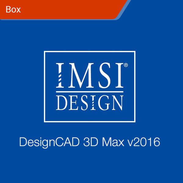 DesignCAD 3D Max v2016-box