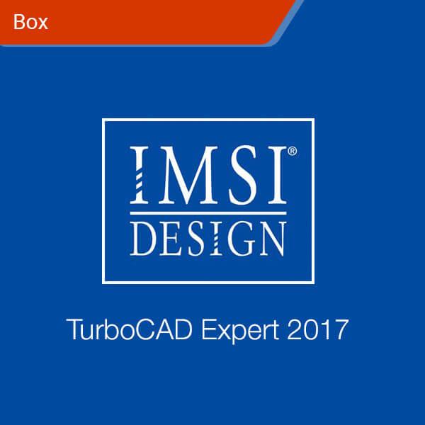 TurboCAD Expert 2017-box
