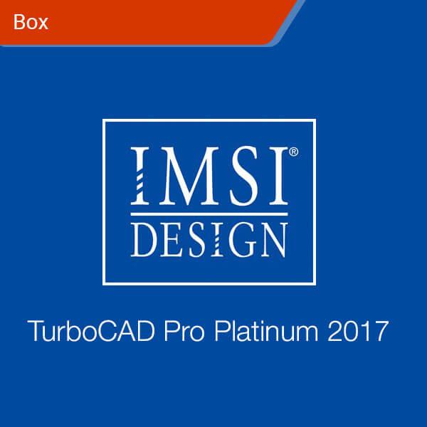 TurboCAD Pro Platinum 2017-box