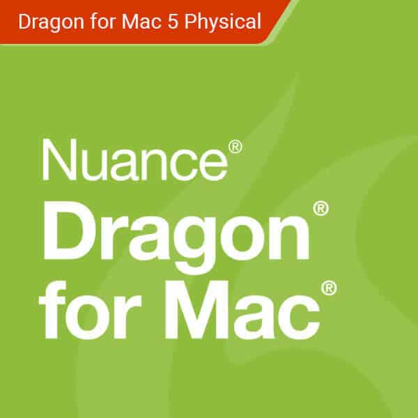 nuance-dragon for mac – physical – 1