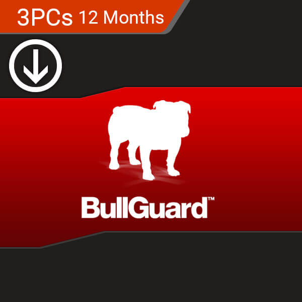 Buy Bullguard Internet Security 2018 3 PC 12 Months
