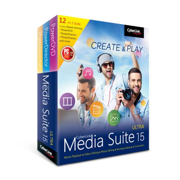 CyberLink Media Suite 15 – box