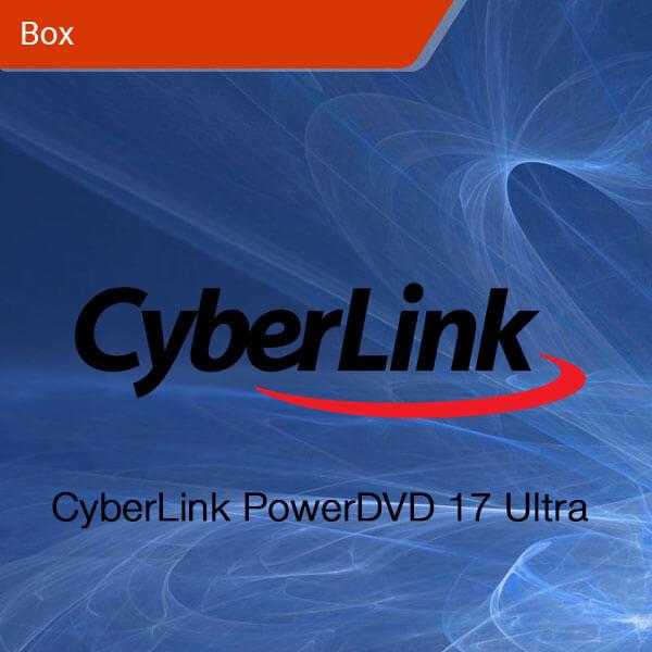 CyberLink Power DVD 17 Ultra-box
