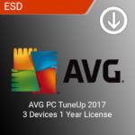 AVG PC TuneUp 2017 3 Devices 1 Year License