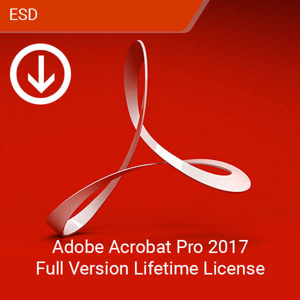 Adobe Acrobat Pro 2017 Full Version Lifetime Licence