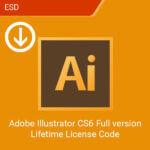 Adobe Illustrator CS6 Full version Lifetime License Code-esd
