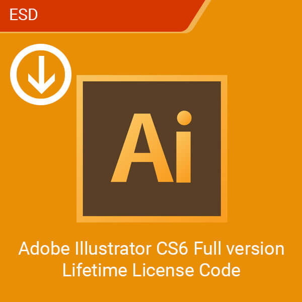 Adobe Illustrator CS6 Full version Lifetime License Code-esd